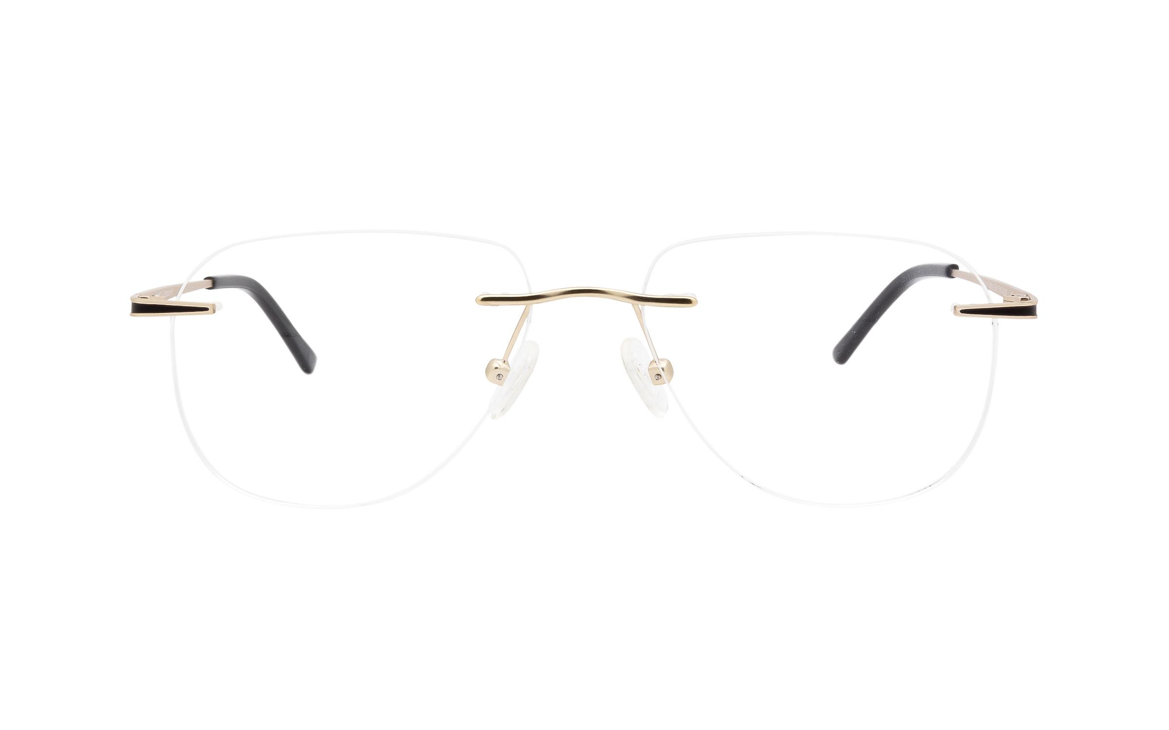 http://www.coastal.com/ - Perspective Gibbous PER015 C04 (54) Eyeglasses and Frame in Matte Gold | Metal – Online Coastal