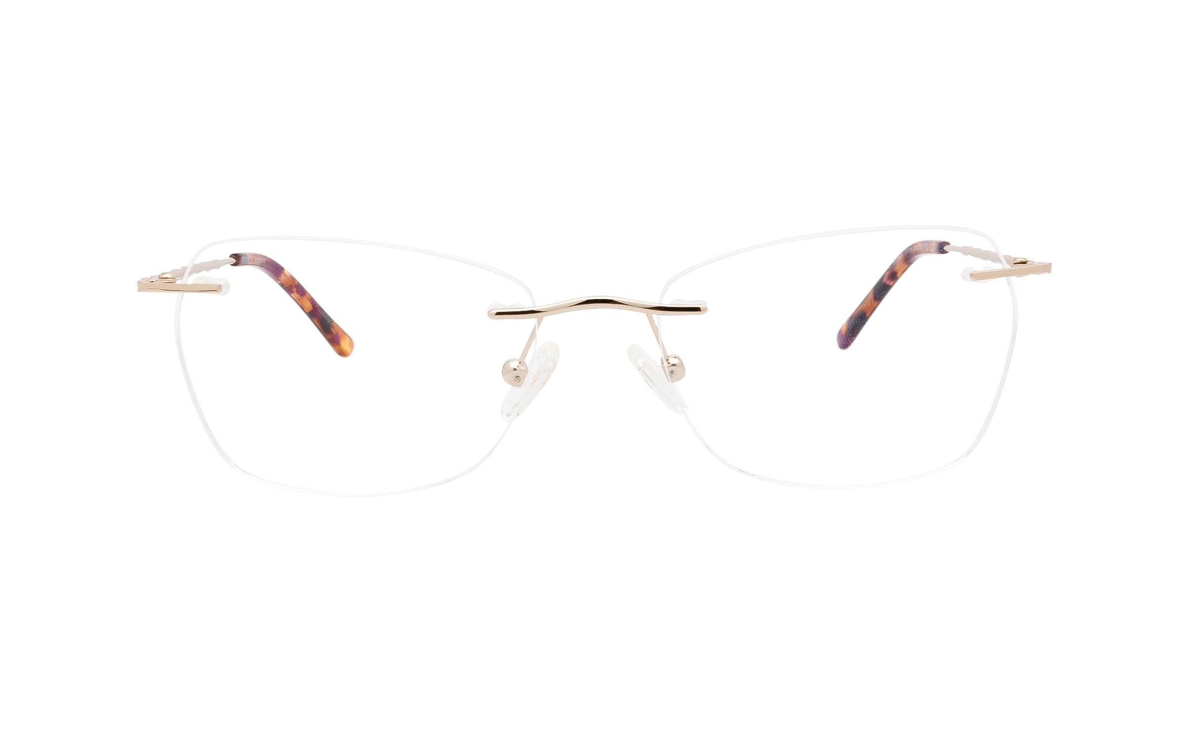 http://www.coastal.com/ - Perspective Meteor PER017 C01 (53) Eyeglasses and Frame in Shiny Gold | Acetate/Metal – Online Coastal