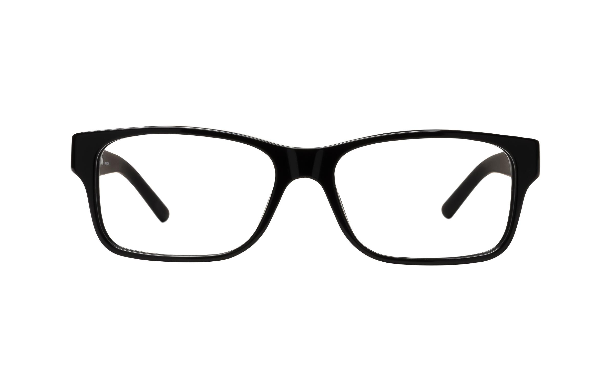 Luxottica Polo Ralph Lauren PH2117 5001 (54) Eyeglasses and Frame in Shiny Black - Online Coastal