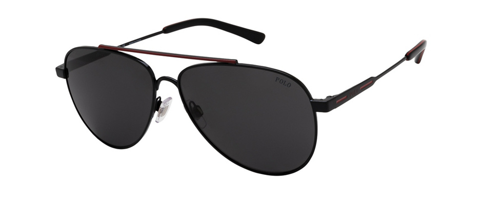 product image of Polo Ralph Lauren PH3126-60 Black Red