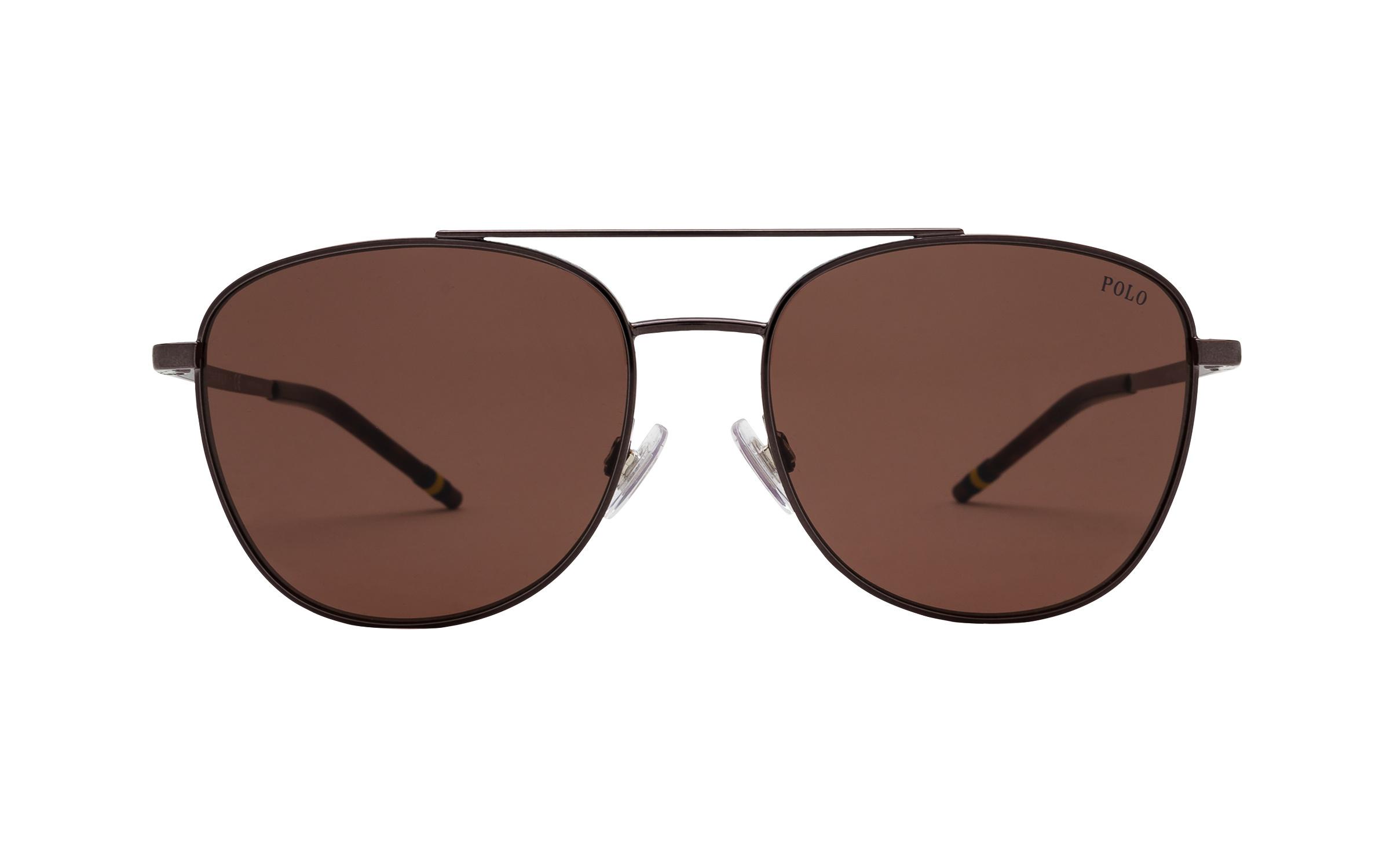 http://www.coastal.com/ - Luxottica Polo Ralph Lauren PH3127 915773 57 Sunglasses in Dark Gunmetal Grey | Plastic/Metal – Online Coastal