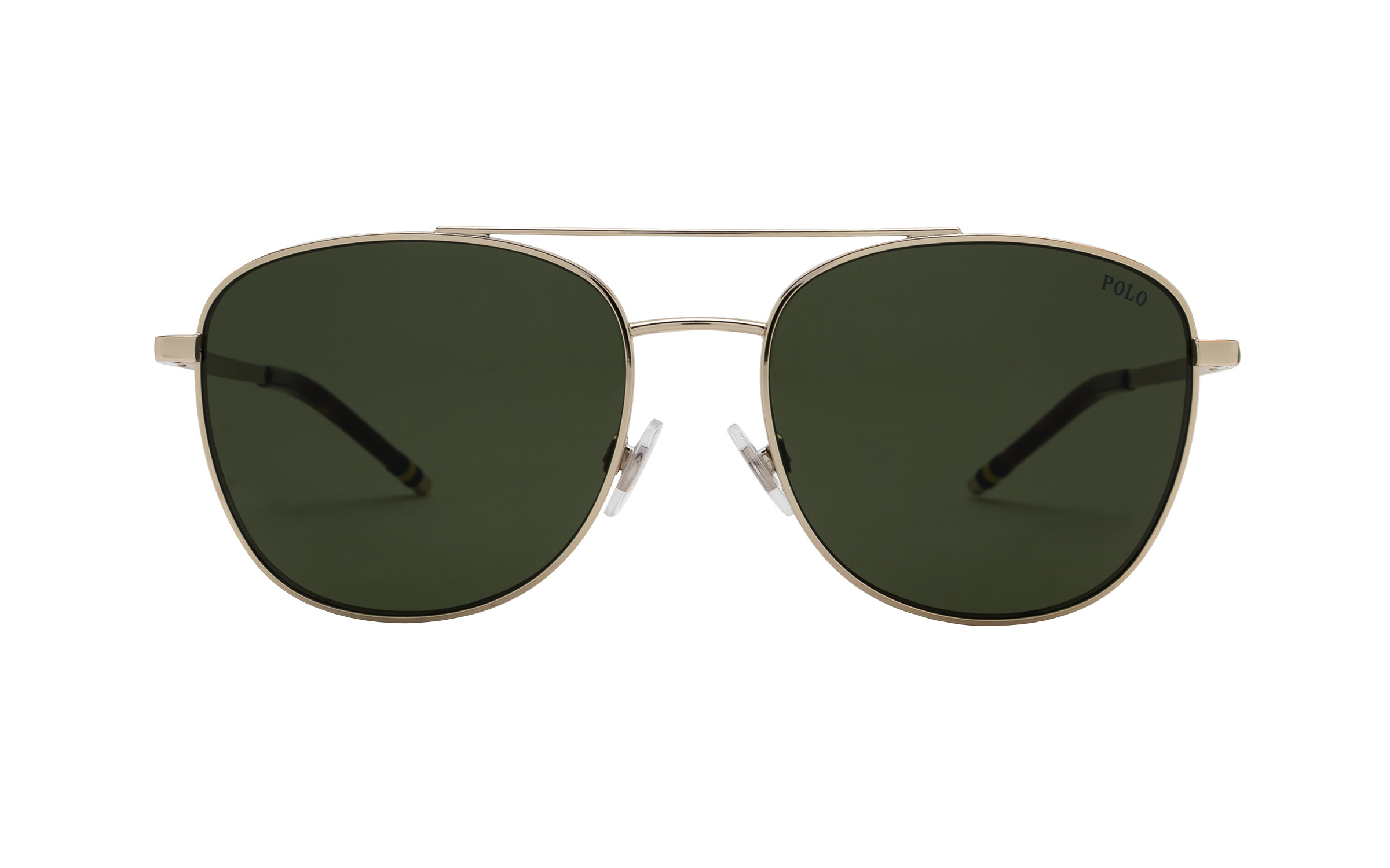Luxottica Polo Ralph Lauren PH3127 911671 57 Sunglasses in Gold | Plastic/Metal - Online Coastal