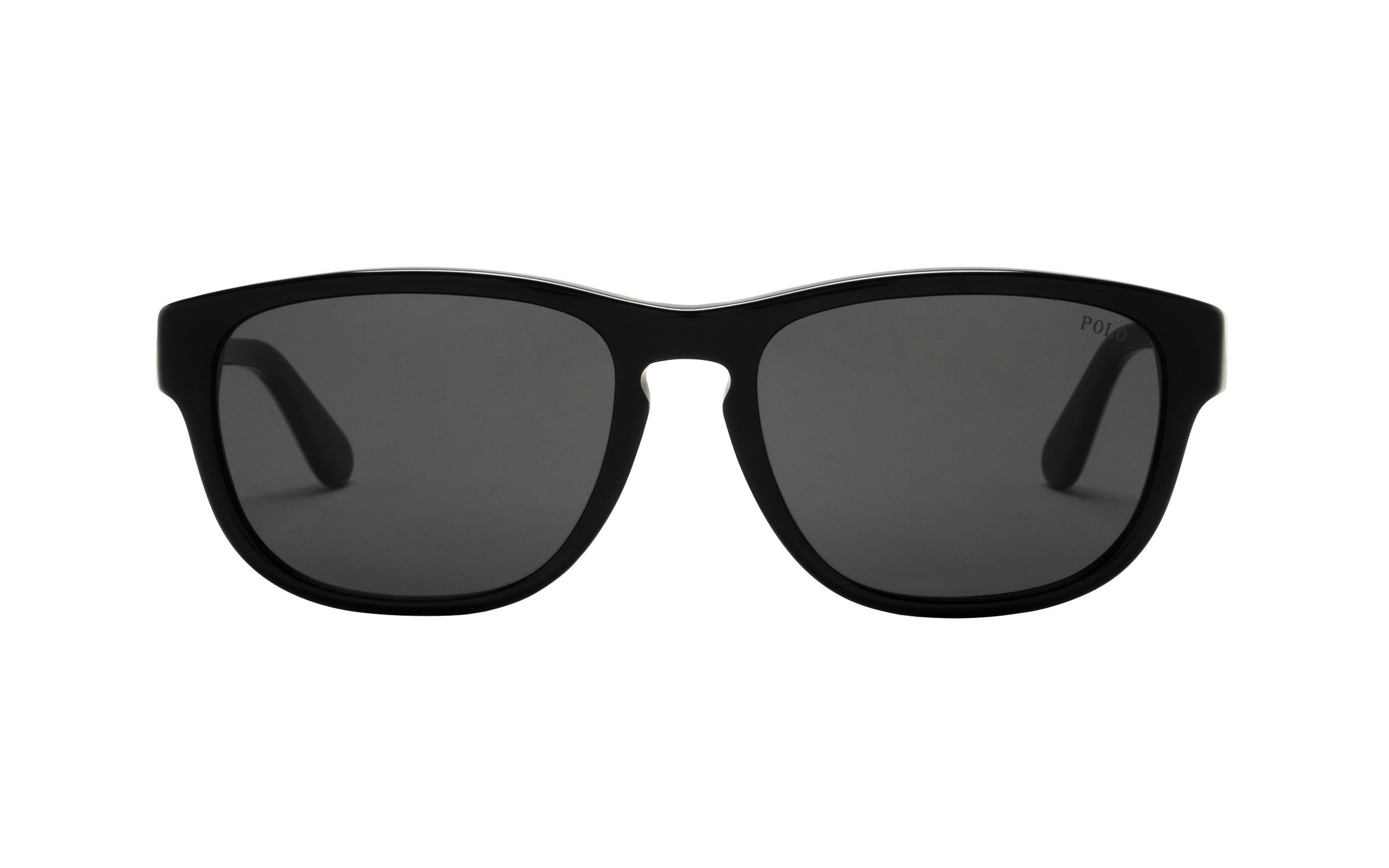 coastal.com - PoloRalphLauren Polo Ralph Lauren PH4158 500187 55 Sunglasses in Black – Online Coastal 158.00 USD