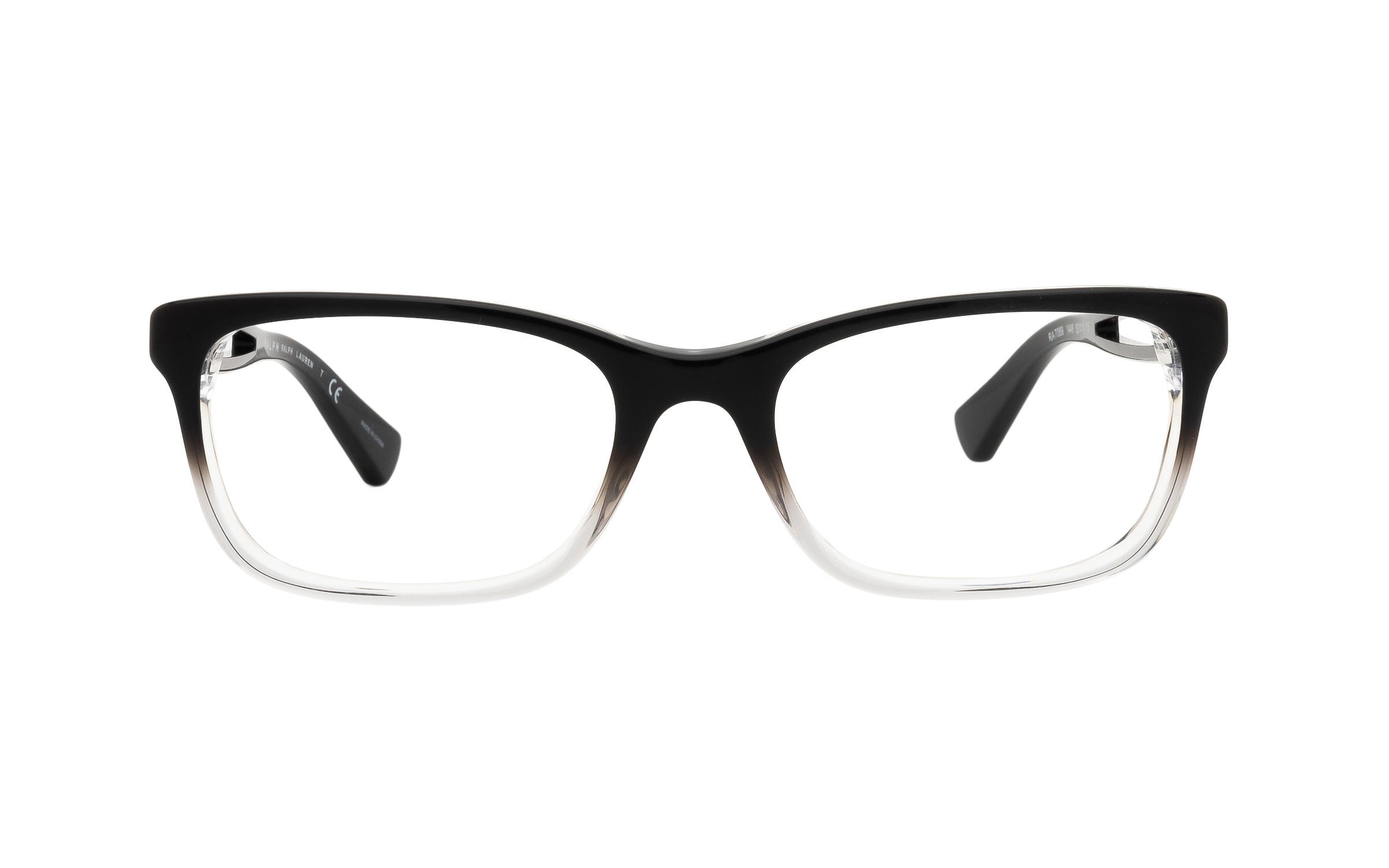 Ralph by Ralph Lauren RA7069 1448 (53) Eyeglasses and Frame in Gradient Black - Online Coastal