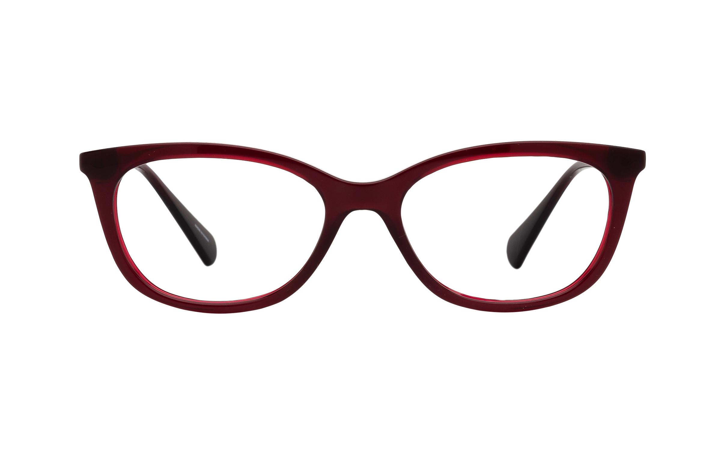 coastal.com - Ralph by Ralph Lauren 0RA7085 1674 (51) Eyeglasses and Frame in Burgundy Red | Acetate – Online Coastal 154.00 USD