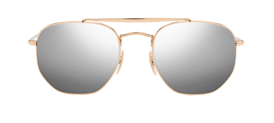 product image of Ray-Ban 3648-54 Gold Light Blue Gradient