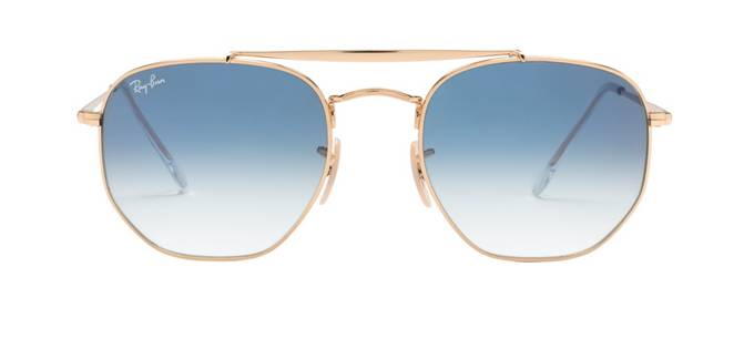 product image of Ray-Ban Marshal Gold Light Blue Gradient