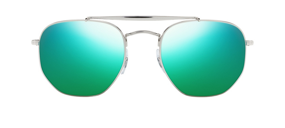 product image of Ray-Ban 3648-54 Silver Blue Gradient Mirror