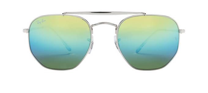 product image of Ray-Ban Marshal Silver Blue Gradient Mirror