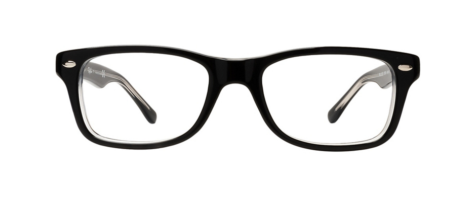 product image of Ray-Ban Junior RB1531-46 Noir/Transparent