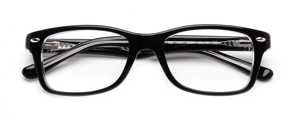 product image of Ray-Ban Junior RB1531-48 Noir/Transparent