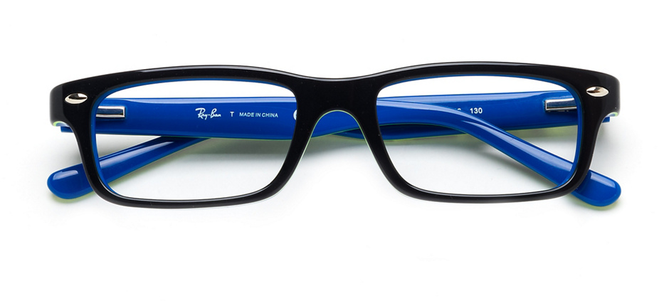 product image of Ray-Ban Junior RB1535-48 Dark Grey on Blue
