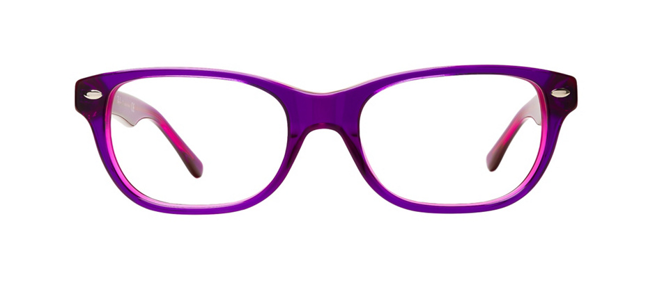 product image of Ray-Ban Junior RB1555-48 Violet on Fuchsia Fluorescent