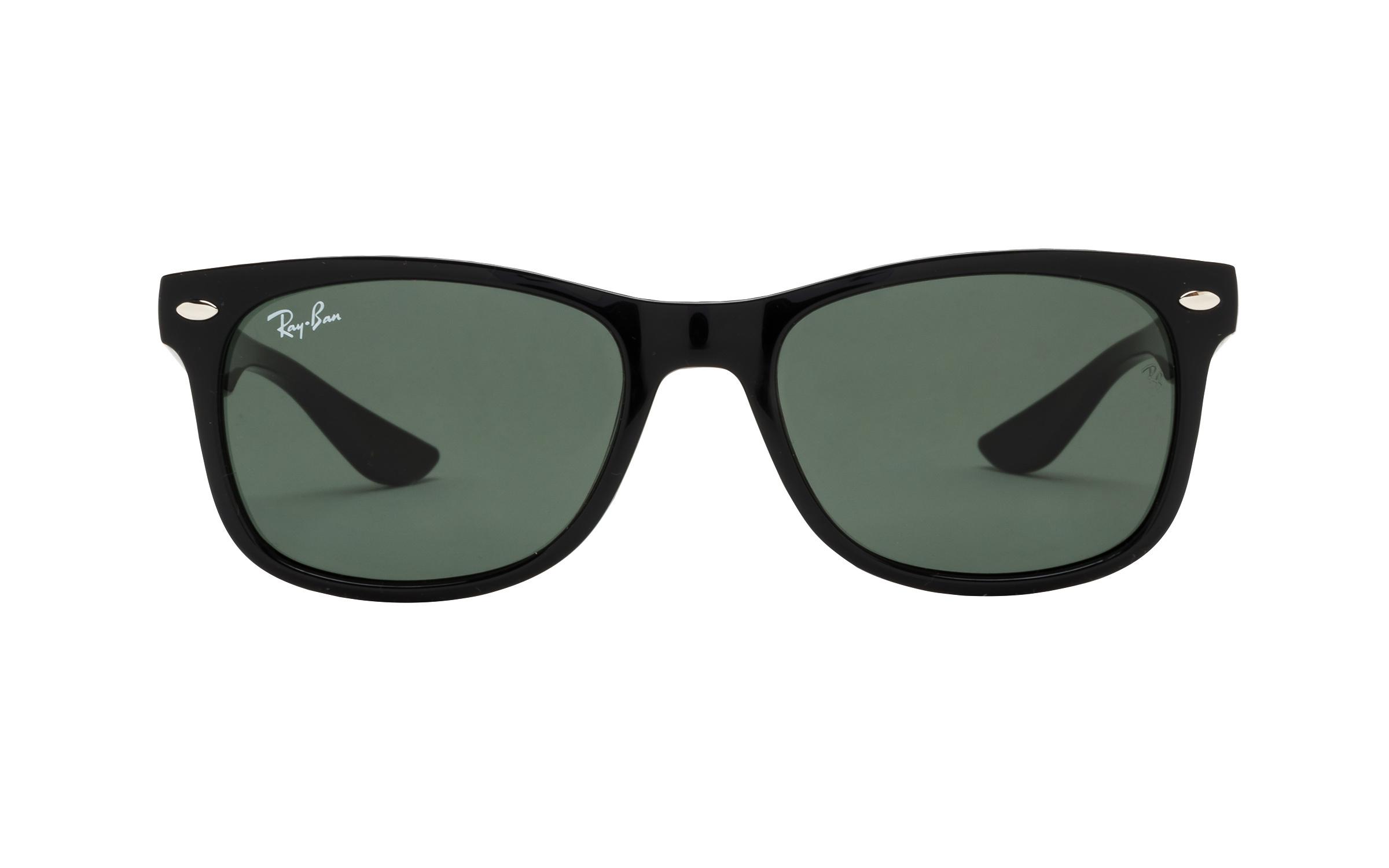 http://www.coastal.com/ - Luxottica Ray-Ban Wayfarer Junior RJ9052S 100 71 47 Sunglasses in Black | Plastic/Metal – Online Coastal