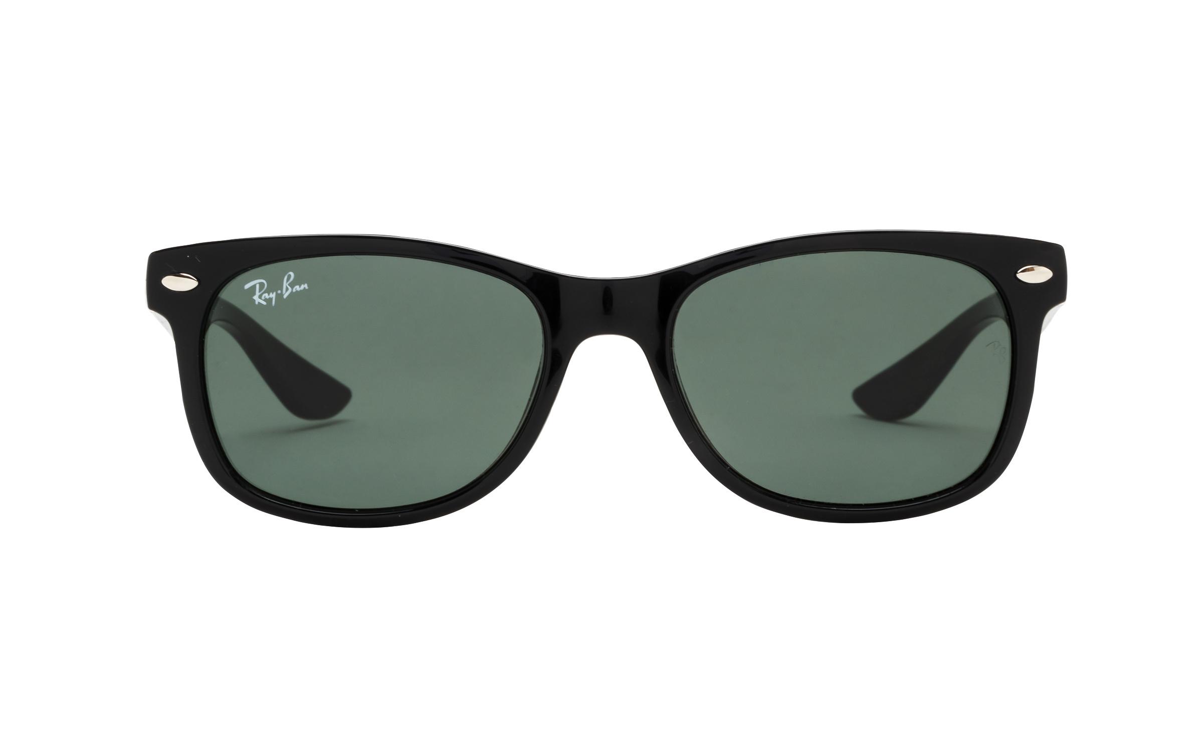 http://www.coastal.com/ - Luxottica Ray-Ban Wayfarer Junior RJ9052S 100 71 48 Sunglasses in Black | Plastic/Metal – Online Coastal