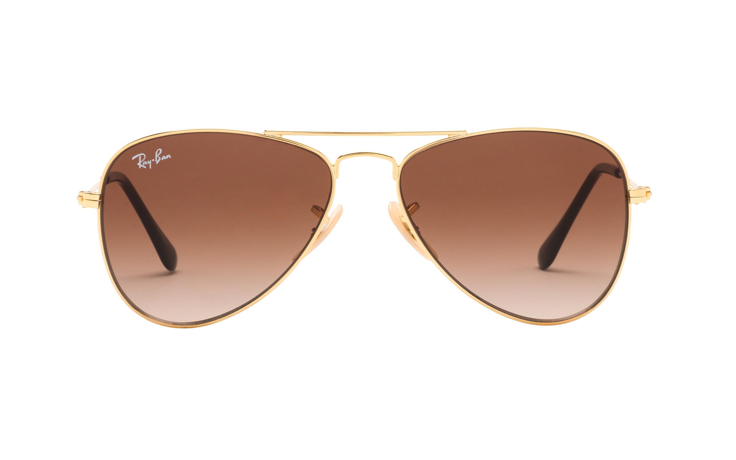http://www.coastal.com/ - Luxottica Ray-Ban Junior RJ9506S 223 13 50 Sunglasses in Gold | Plastic/Metal – Online Coastal