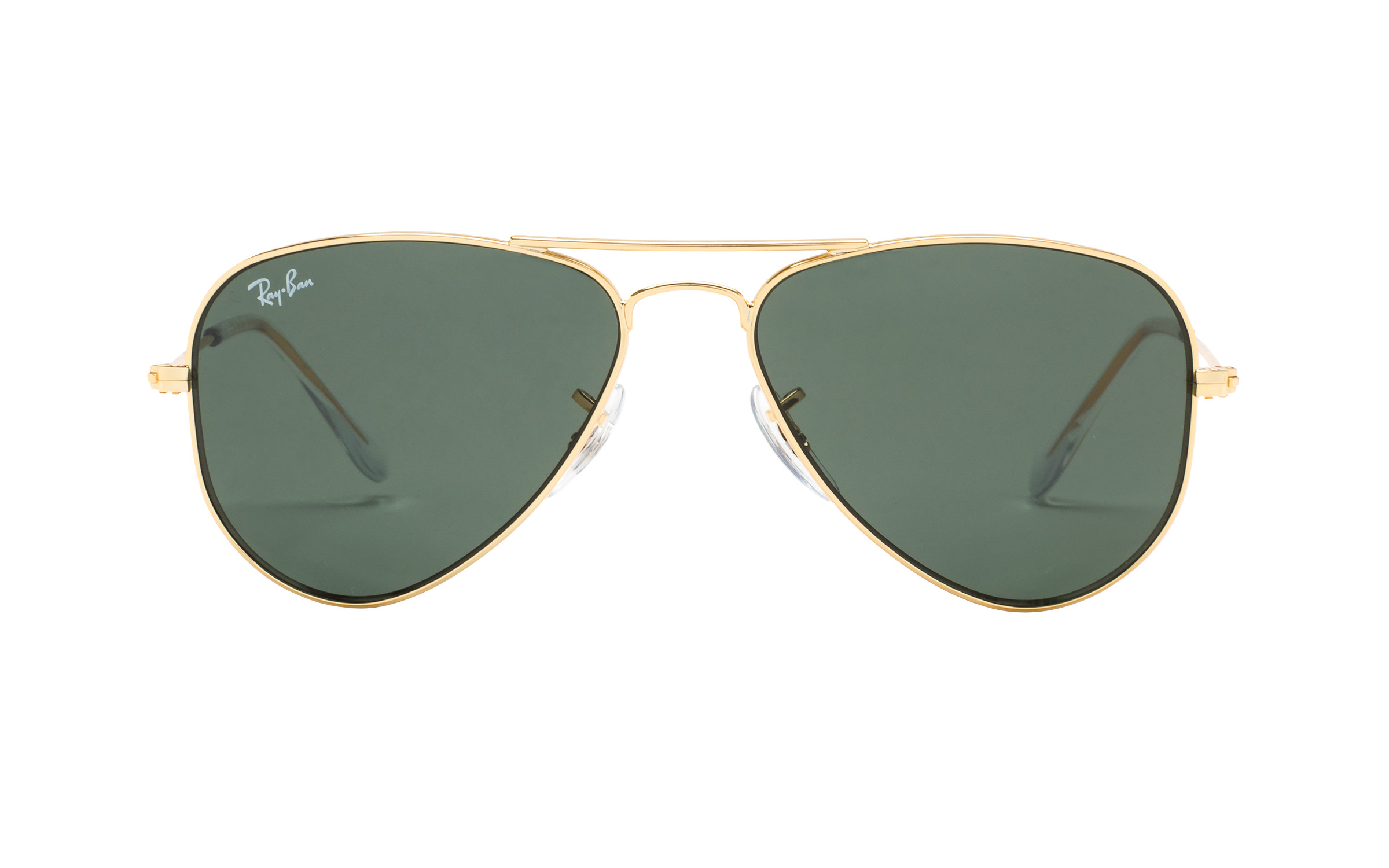 RayBanJunior Ray-Ban Junior RJ9506S 223 71 52 Sunglasses in Gold | Plastic/Metal - Online Coastal