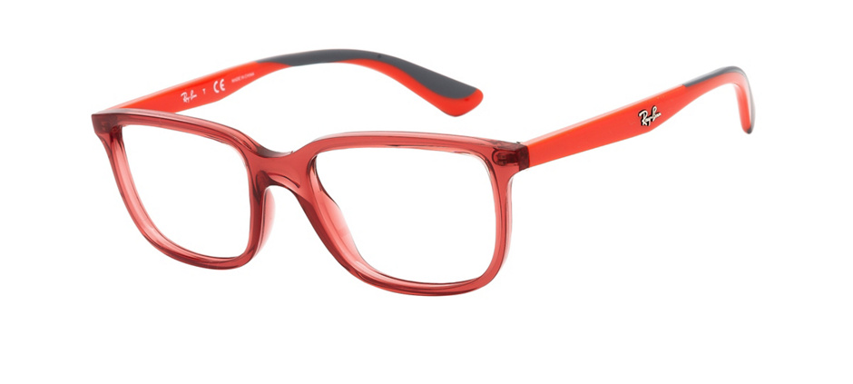 product image of Ray-Ban Junior RY1605-47 Transparent Red