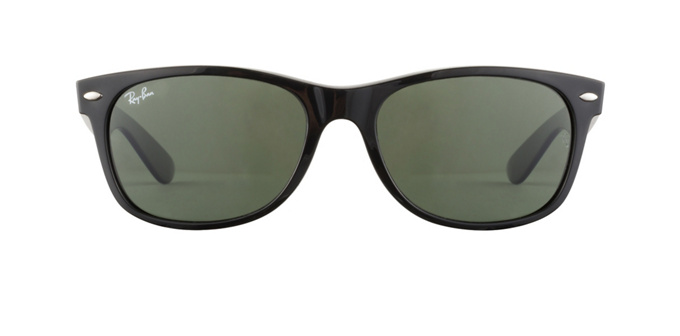 product image of Ray-Ban New Wayfarer Classic Black Crystal Green