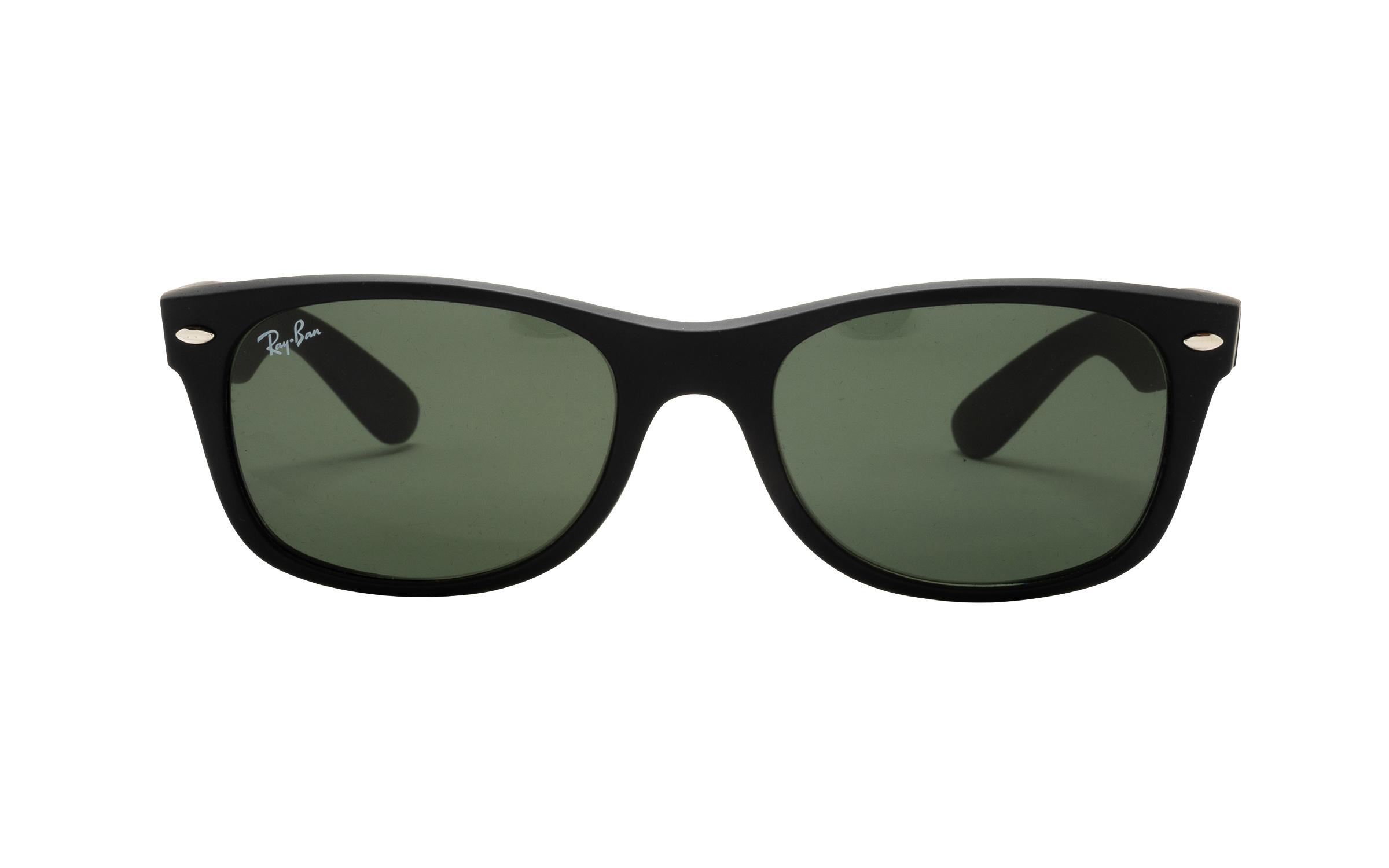 coastal.com - RayBan Ray-Ban RB2132 622 Rubber 52 Sunglasses in Black – Online Coastal 144.00 USD