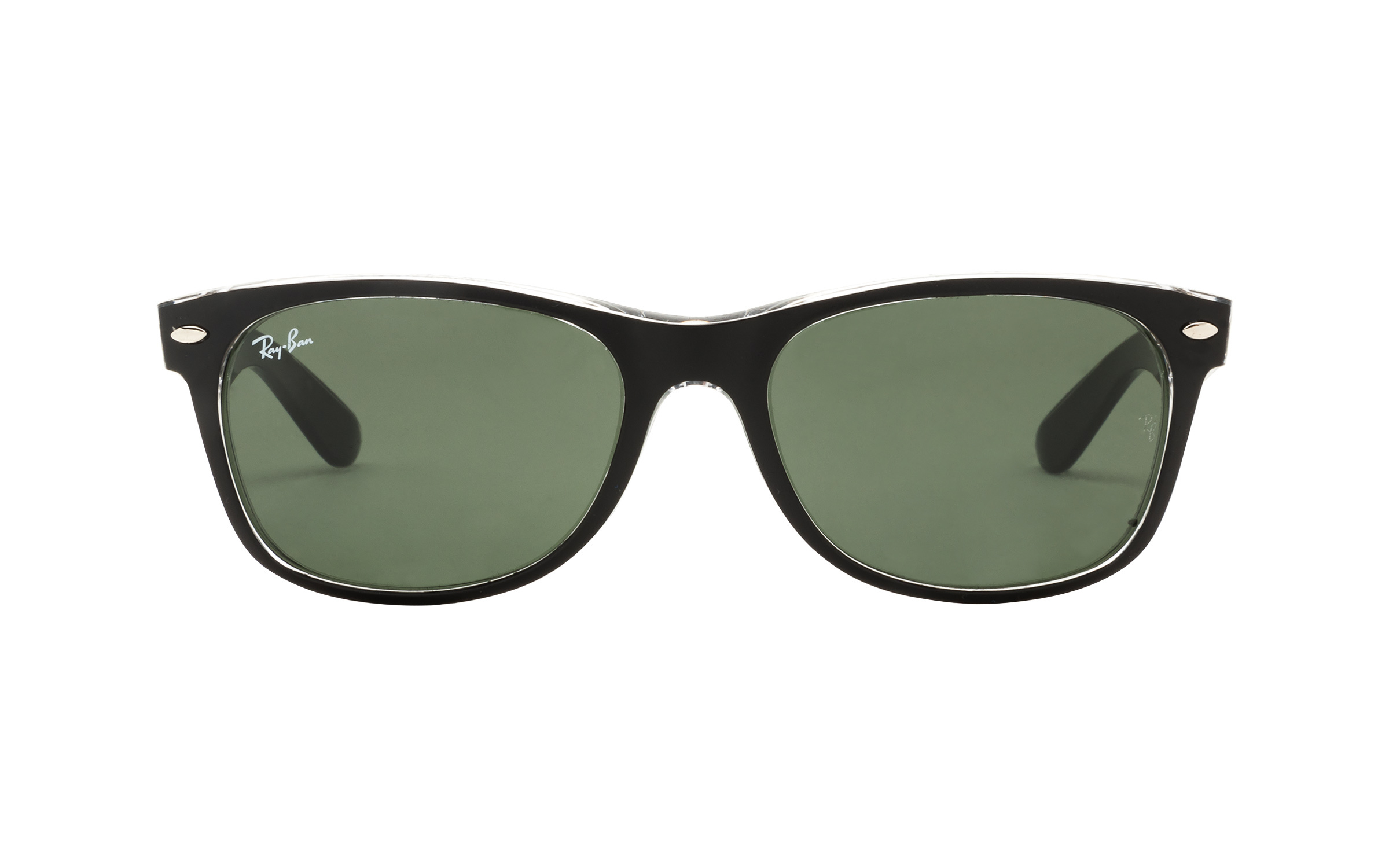 Ray-Ban RB2132 6052 55 Sunglasses in Clear Black - Online Coastal