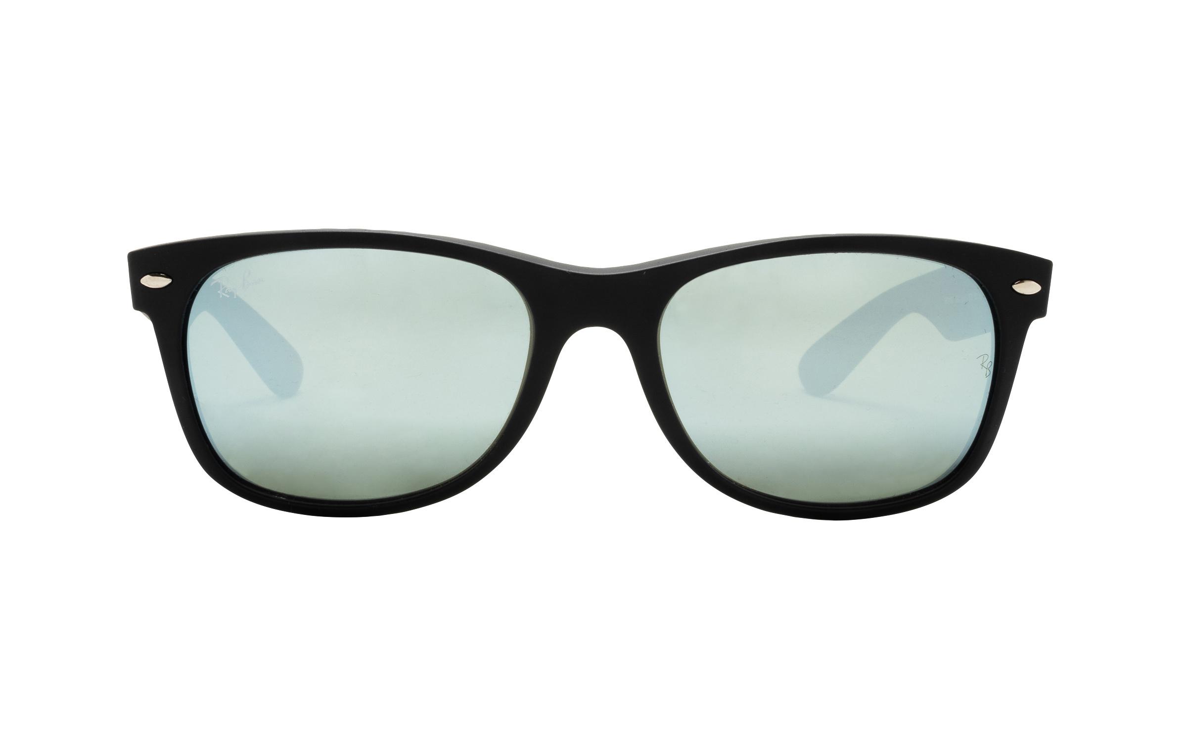 coastal.com - RayBan Ray-Ban RB2132 622/30 55 Sunglasses in Rubber Black – Online Coastal 169.00 USD