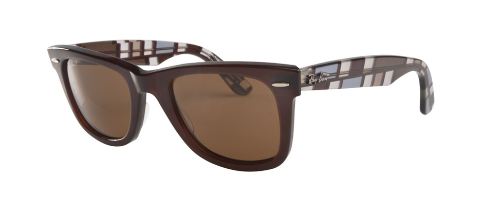 product image of Ray-Ban Original Wayfarer Blocks 3D Blue Brown