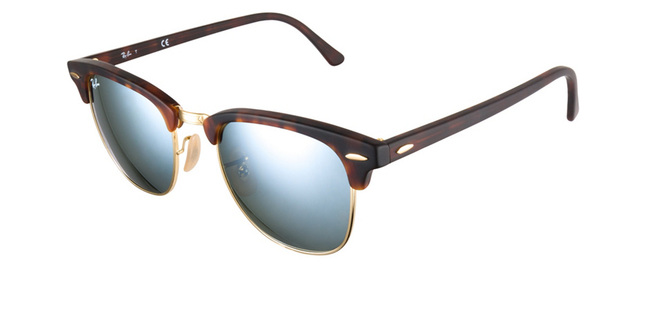 product image of Ray-Ban Clubmaster Silver Mirror