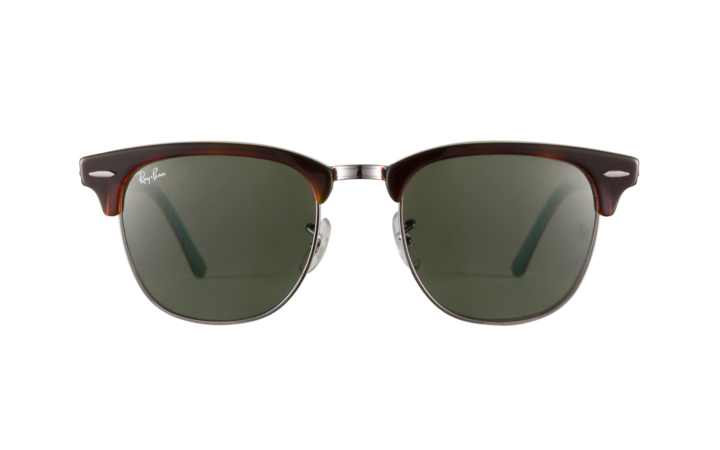 ray ban rb3016 u4k2  product image of Ray-Ban Clubmaster Havana Green