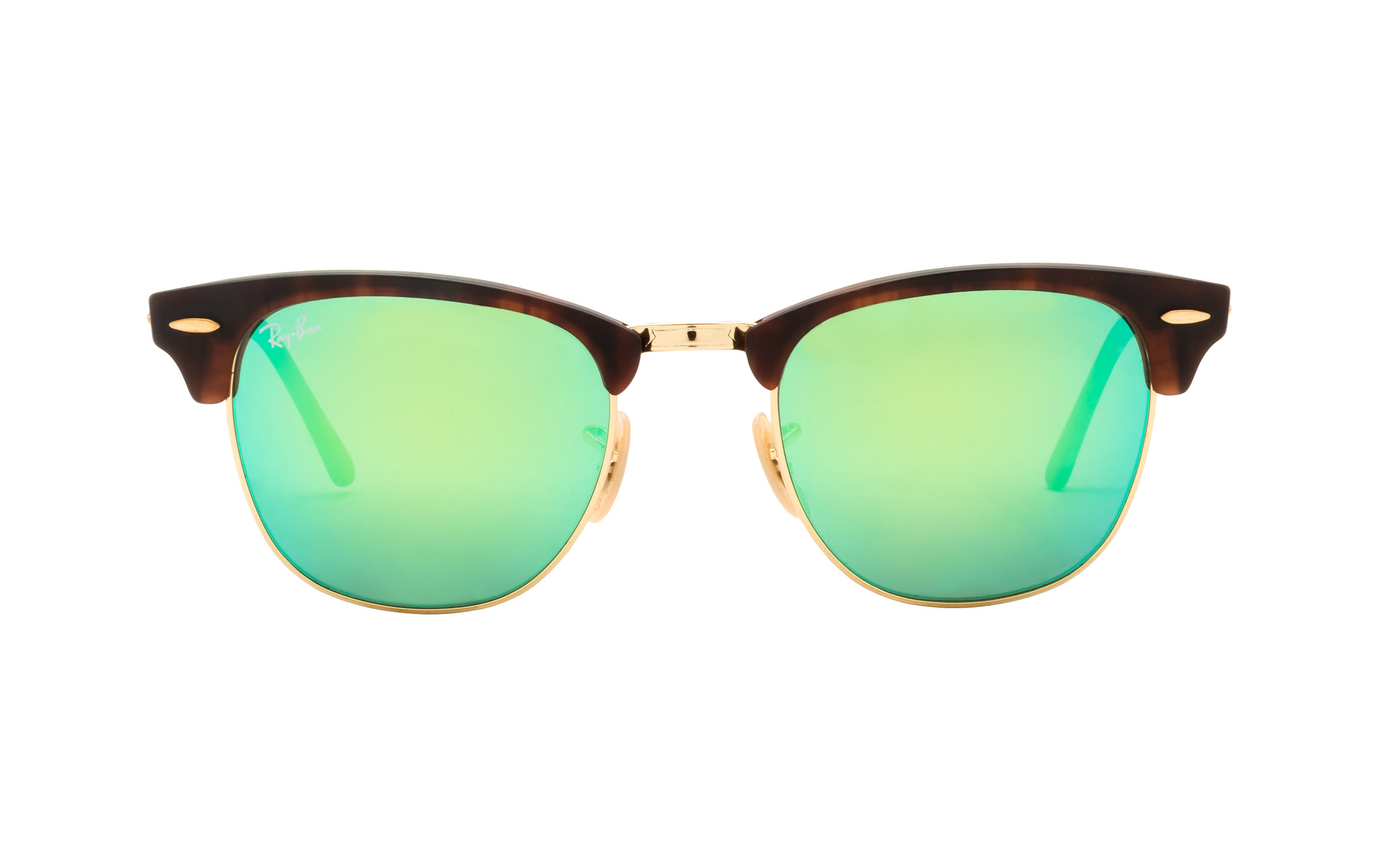 Ray-Ban 3016 114 519 Green Mirror 51 Sunglasses