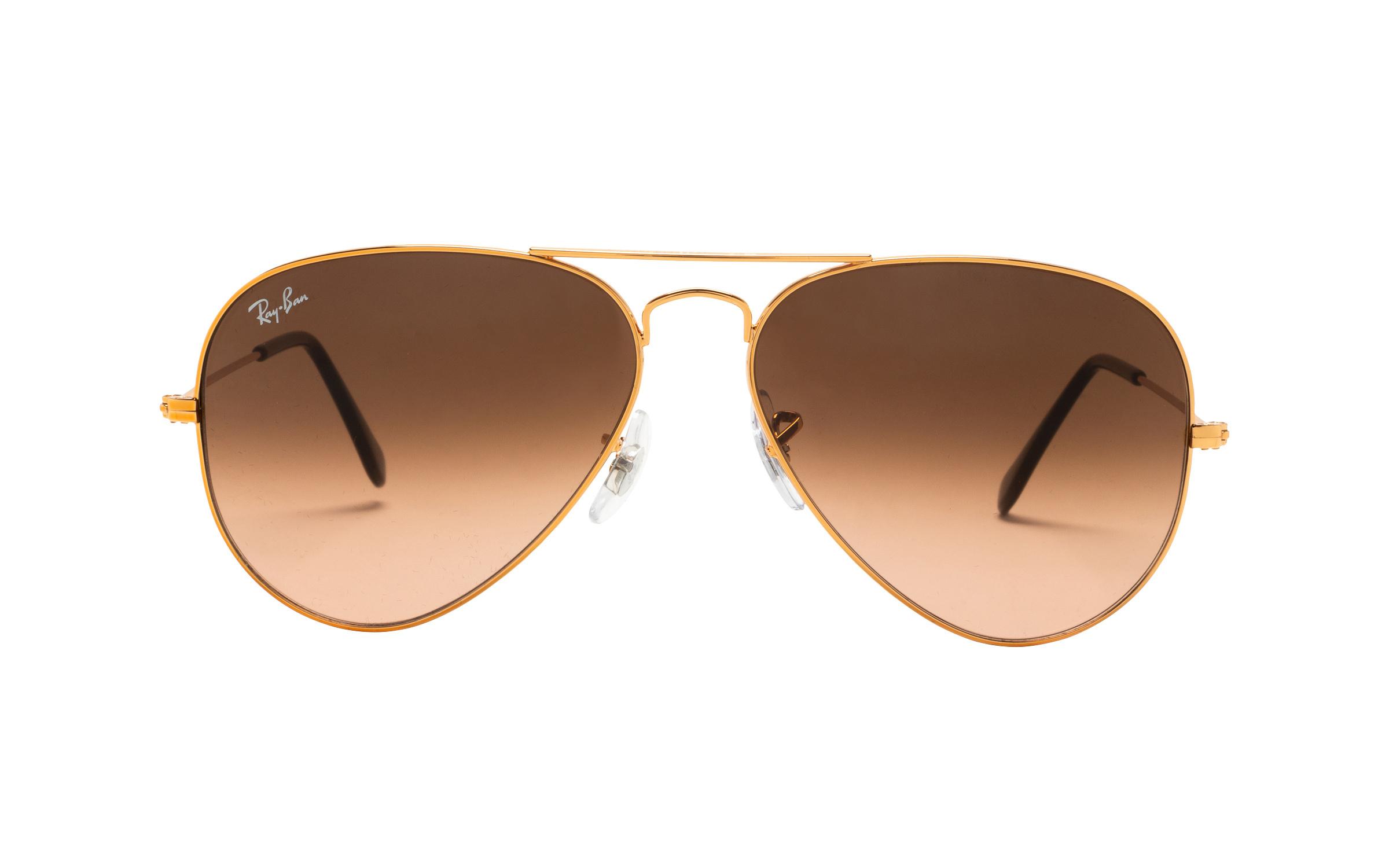 coastal.com - RayBan Ray-Ban RB3025 9001A5 Shiny Light Bronze 58 Sunglasses in Brown | Plastic – Online Coastal 157.00 USD