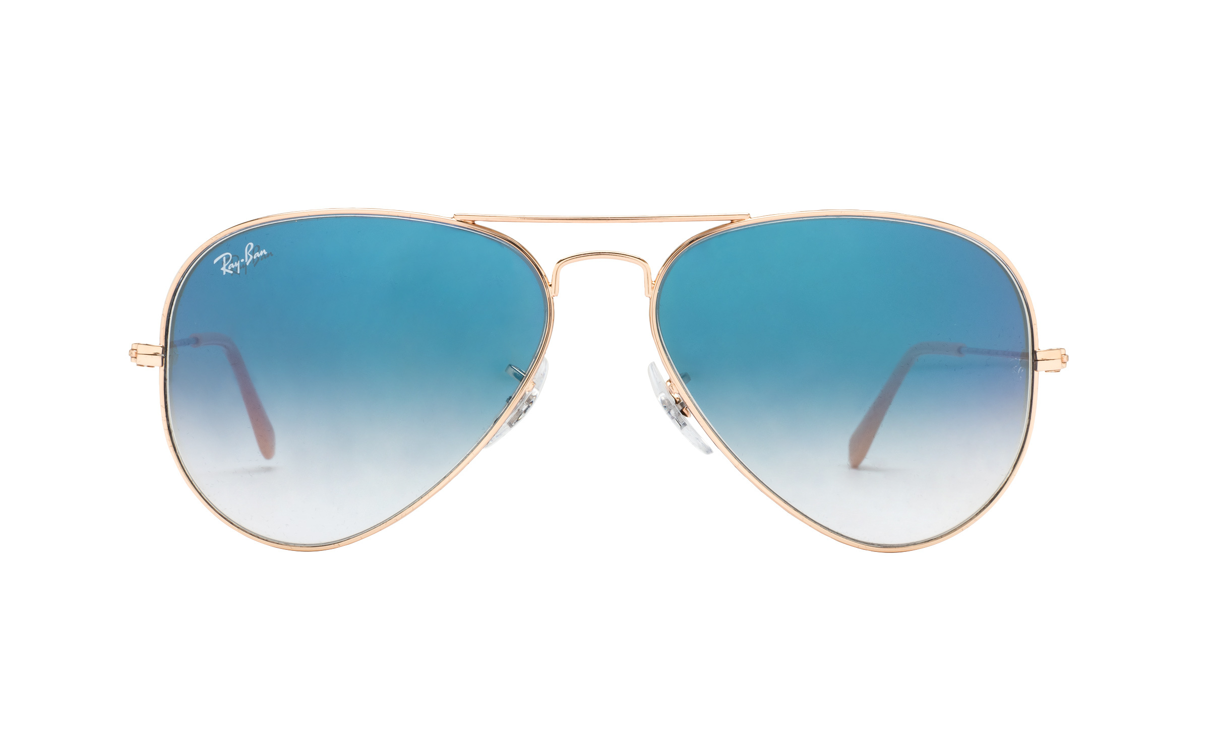 RayBan Ray-Ban RB3025 001/3F 58 Sunglasses in Gold | Plastic - Online Coastal