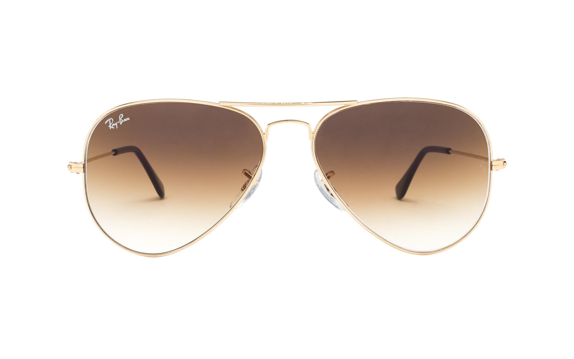 http://www.coastal.com/ - Luxottica Ray-Ban RB3025 001/51 58 Sunglasses in Gold | Plastic – Online Coastal