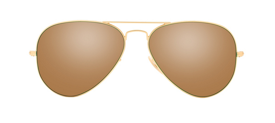 product image of Ray-Ban RB3025-58 Gold Green Mirror
