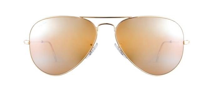 product image of Ray-Ban RB3025-58 Gold Mirrored