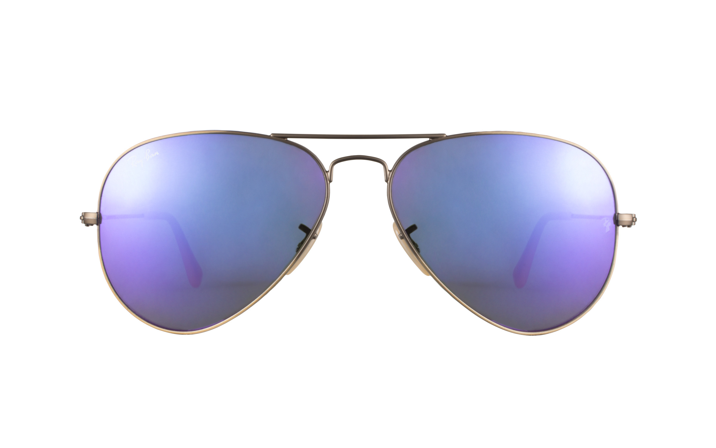 Ray-Ban 3025 167 1M Violet Mirror 58 Sunglasses