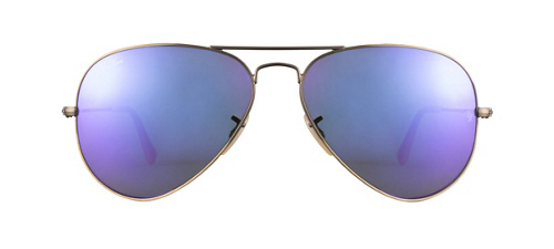 product image of Ray-Ban RB3025-58 Violet Mirror