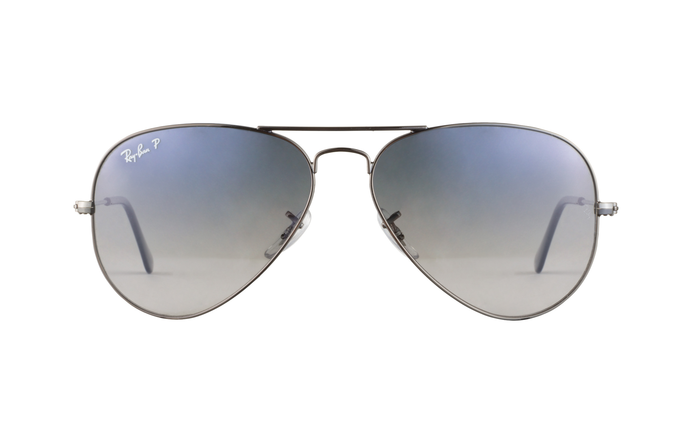 Ray-Ban RB3025 004 78 58 Sunglasses in Gunmetal Polarized Grey/Silver - Online Coastal