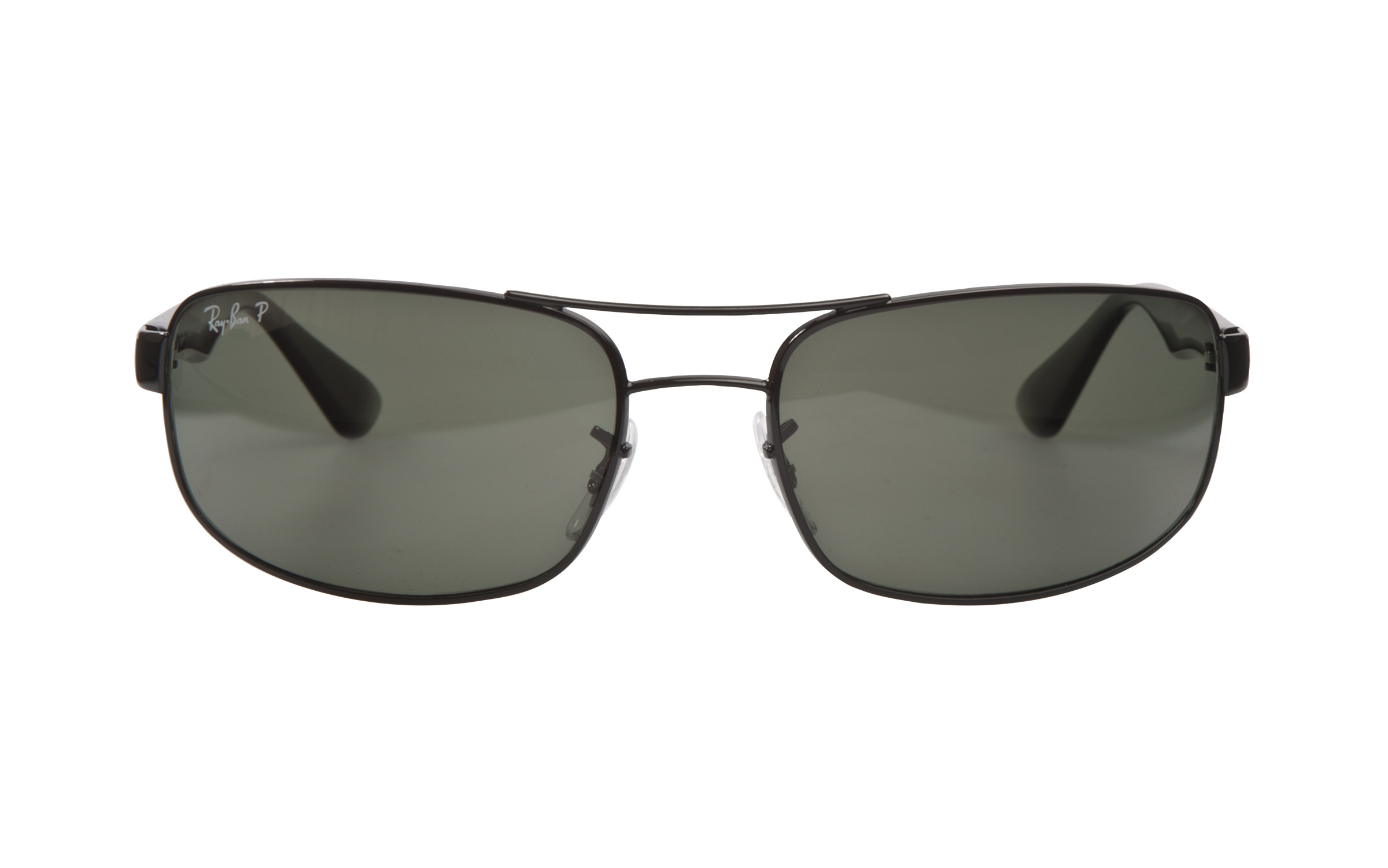 Ray-Ban 3445-002 58 Sunglasses in Black | Polarized/Metal - Online Coastal