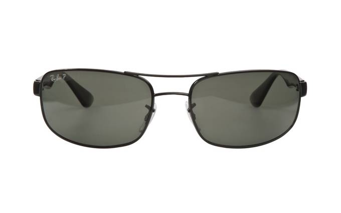 Ray Ban Black Sunglasses  product image of ray ban rb3445 58 black