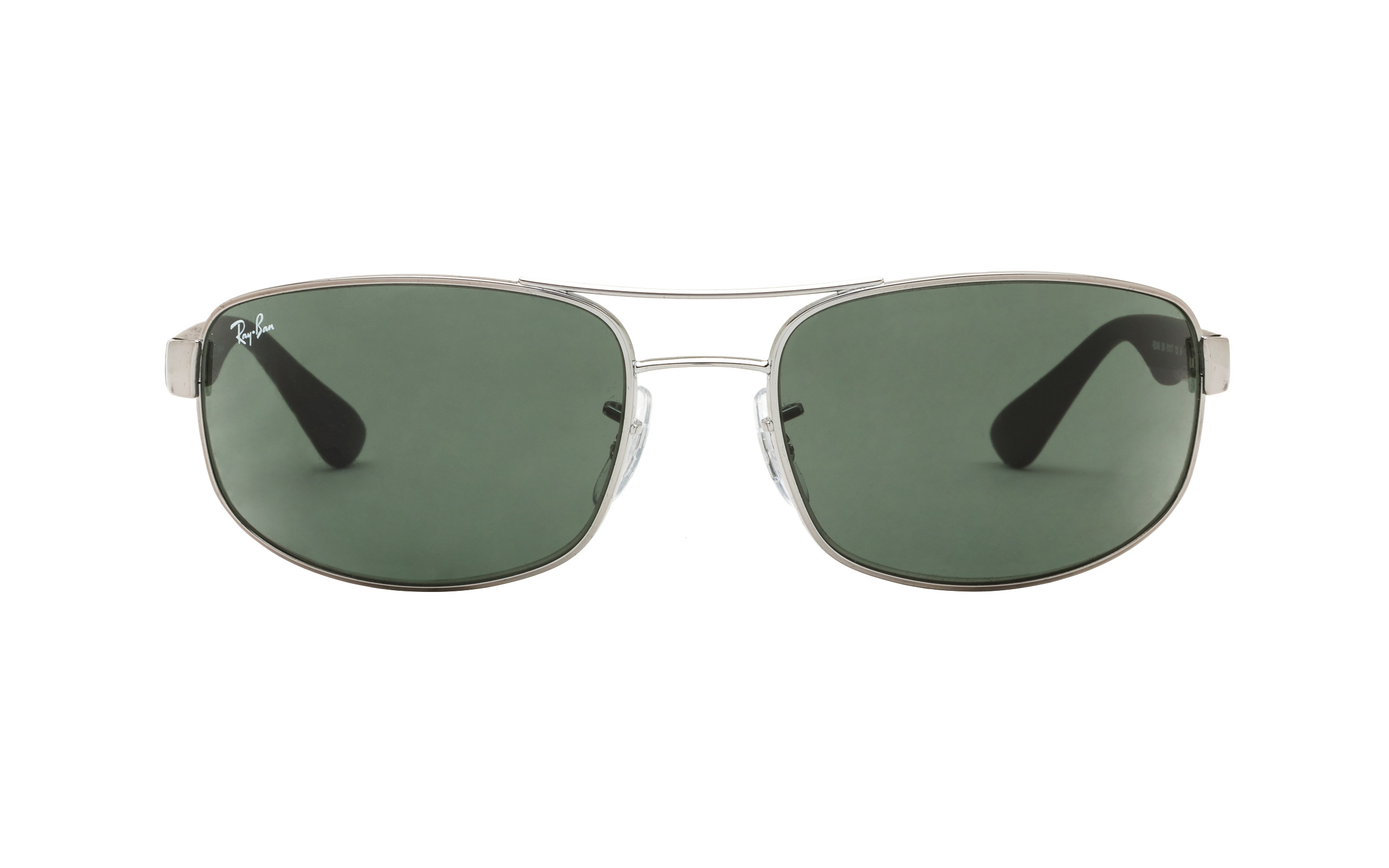 Ray-Ban RB3445 004 61 Sunglasses in Gunmetal Grey/Silver | Acetate/Metal - Online Coastal