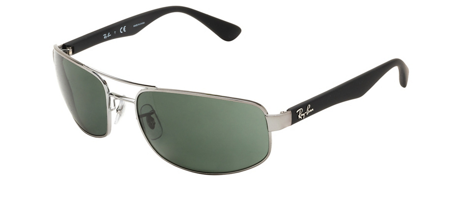 product image of Ray-Ban RB3445-61 Gris acier