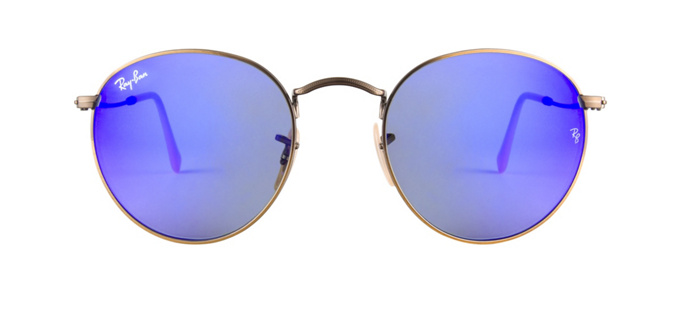 product image of Ray-Ban RB3447-50 Blue Mirror