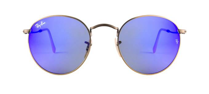 product image of Ray-Ban RB3447 Blue Mirror