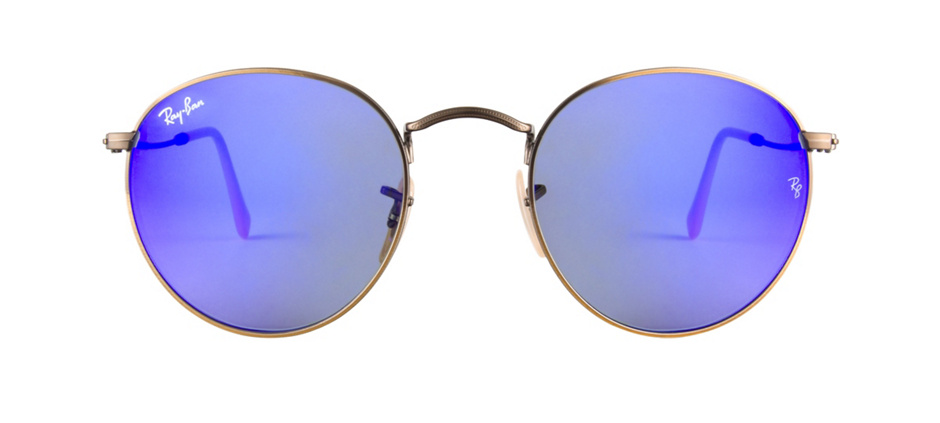 product image of Ray-Ban RB3447 Bleu - Verres miroirs