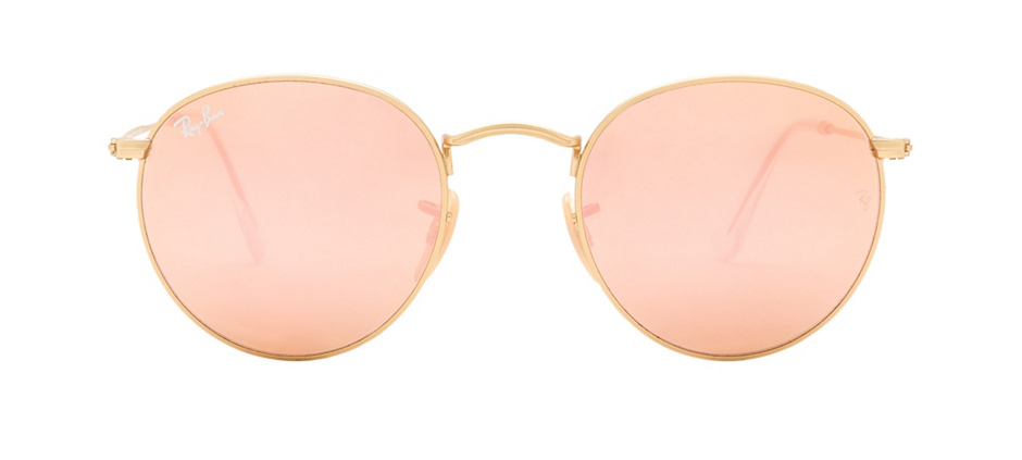 product image of Ray-Ban RB3447 Or - Verres miroirs