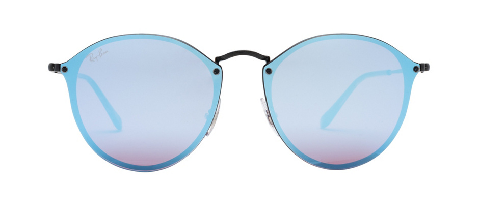 product image of Ray-Ban Blaze Round Black Blue Mirror