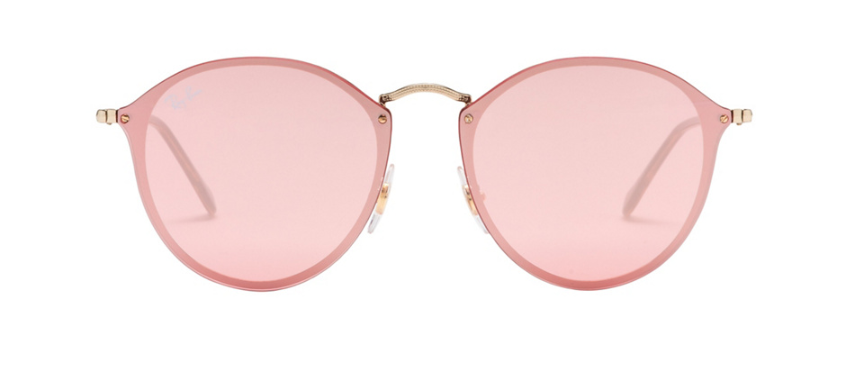 product image of Ray-Ban Blaze Round Gold Pink Mirror