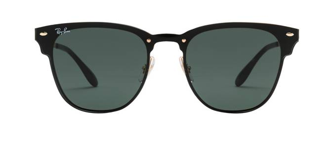 product image of Ray-Ban Blaze Clubmaster Gold Green Classic