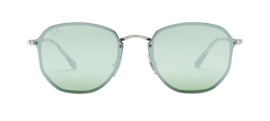 product image of Ray-Ban Blaze Hexagonal Silver Dark Green Silver Mirror